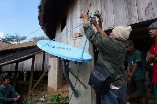 Ekowisata Desa Waerebo kini dapat mengakses internet