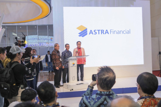 Astra Financial dulang pembiayaan hingga Rp1 triliun di GIIAS