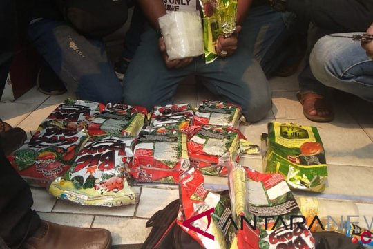 Polrestabes Medan gagalkan pengiriman empat kilogram sabu