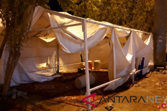 Laporan dari Mekkah - Menag cek tenda roboh di Arafah