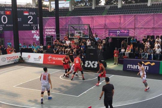 Tim putra basket 3x3 Indonesia wajib menang agar lolos fase grup