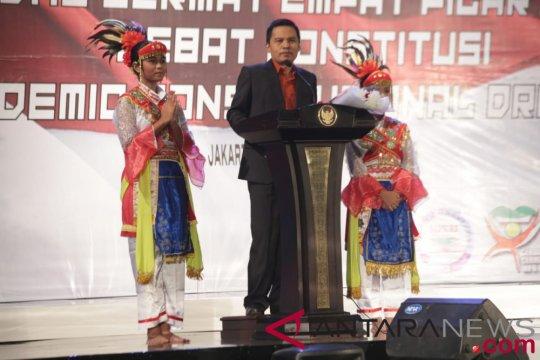 Sekjen MPR buka Pekan Konstitusi 2018