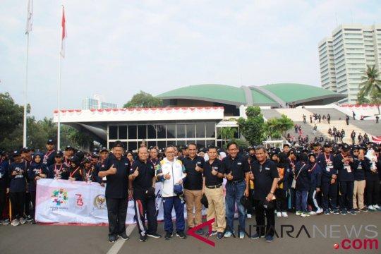 Jalan Sehat Empat Pilar MPR untuk persatuan