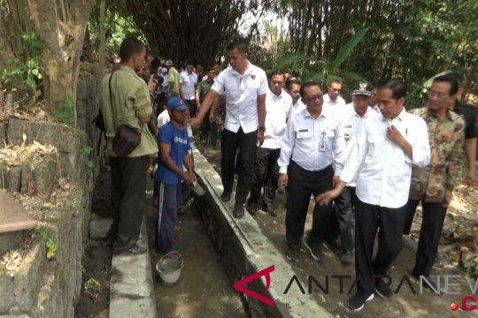 Presiden tinjau pemanfaatan dana desa di Sleman