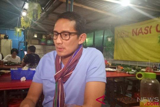 Sandiaga : Pengungsi gempa Lombok perlu banyak bantuan