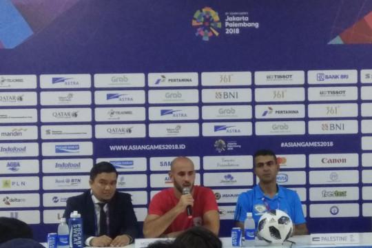 Pelatih Palestina sumringah timnya mampu lewati laga sulit