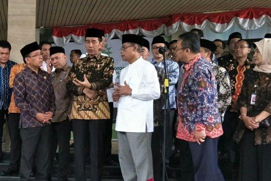 Jokowi dan PP Muhammadiyah bahas ekonomi berkeadilan