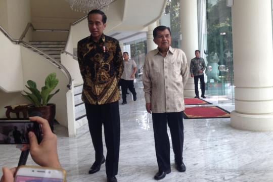 Jokowi: Cawapres M bisa Muhammad Jusuf Kalla