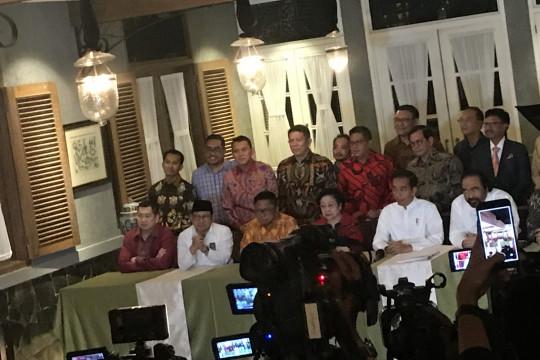 Jokowi sebut Ma'ruf Amin tokoh agama bijaksana
