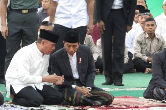 Presiden: Idul Adha momen berbagi dan membantu
