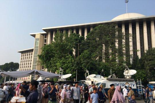 Masjid Istiqlal sedot perhatian media asing peliput Asian Games
