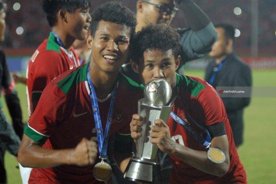 Si kembar Bagas-Bagus pemain timnas U-18 yang tertukar