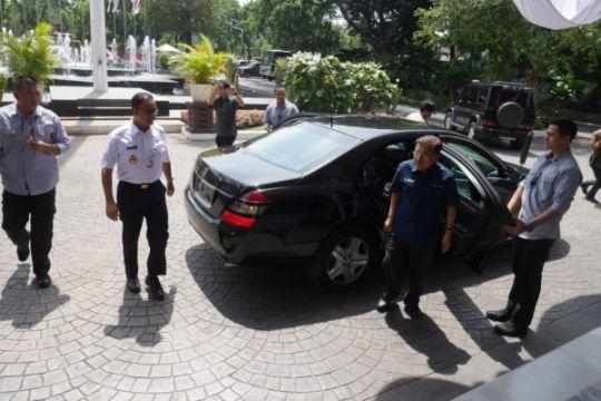 Jusuf Kalla kembali antar Anies ke Balai Kota