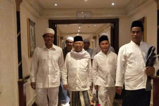 Laporan dari Mekkah - Ma'ruf Amin ingatkan tanggung jawab Nahdlatul Ulama