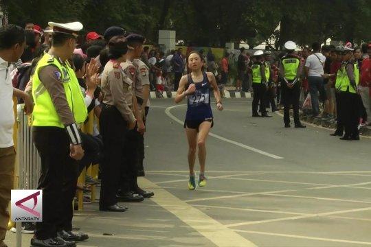 Indonesia tanpa wakil, Bahrain raih emas maraton putri