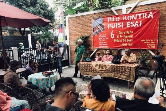Memahami Batin Indonesia di 34 provinsi melalui 34 buku puisi esai