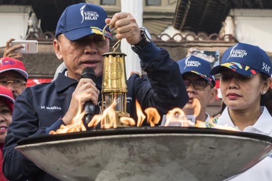 Pelepasan Api Obor Asian Games