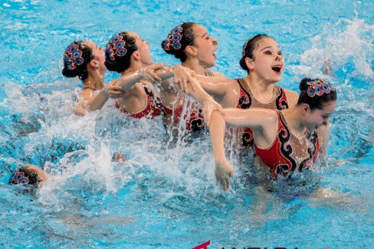 Tim renang indah China ingin jadi model bagi negara lain