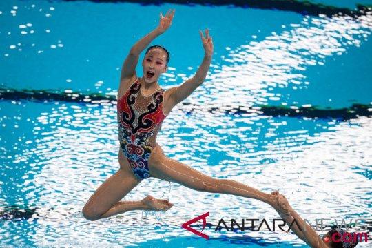 China juarai renang indah nomor beregu