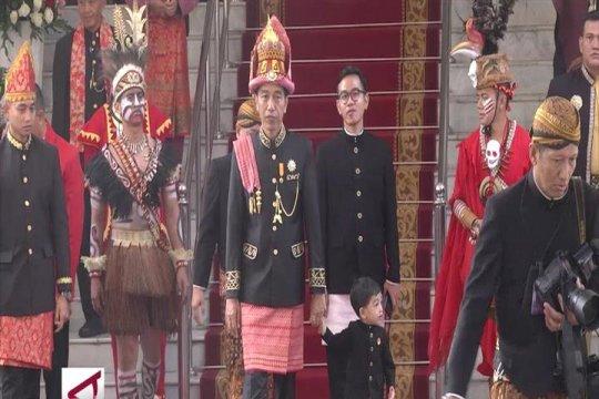 Pesan Presiden Jokowi di HUT RI Ke-73