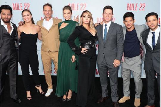 """Film Iko Uwais """"Mile 22"""" masuk tiga besar box office"""