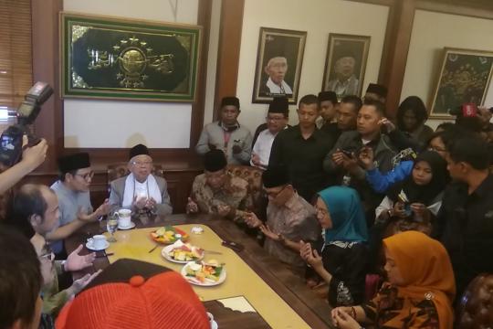 Ma'ruf Amin ibadah haji bersama keluarga