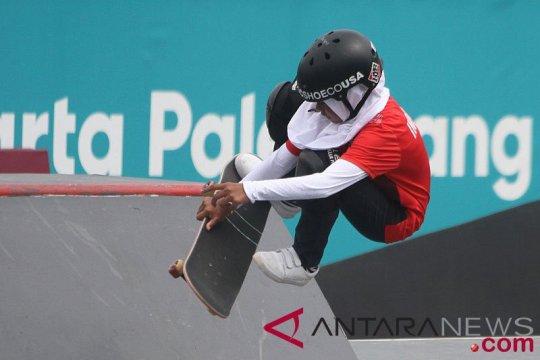 Dua atlet skateboard Indonesia ikuti kualifikasi Olimpiade ke AS