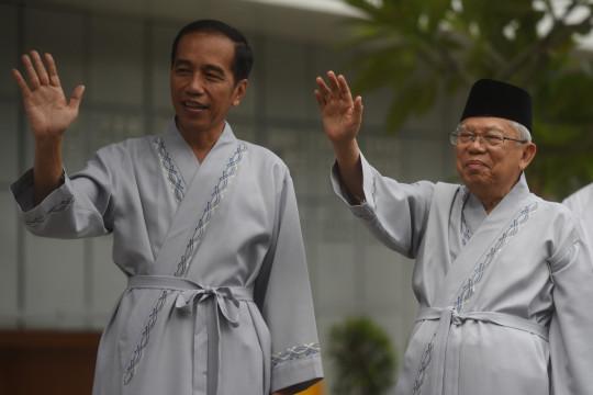 Di Madiun, Ma'ruf Amin kembali ungkap alasannya dampingi Jokowi