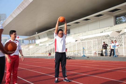 CdM: Persiapan atlet hampir 100 persen