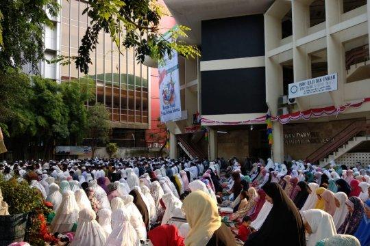 Warga MTA Temanggung shalat Idul Adha