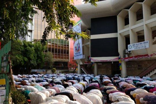 Dewan Dakwah Islamiyah laksanakan shalat idul Adha hari ini