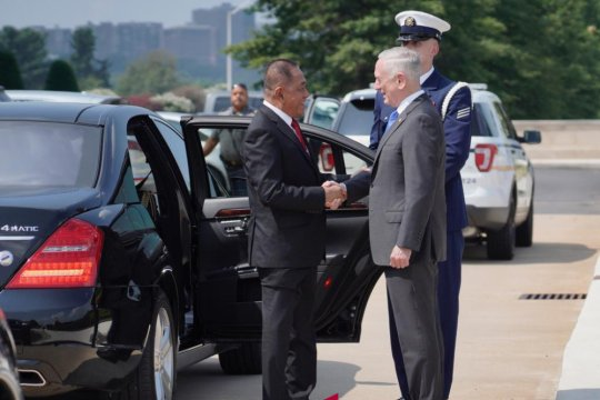 Menhan RI dan AS sepakati penguatan kerja sama pertahanan kedua negara