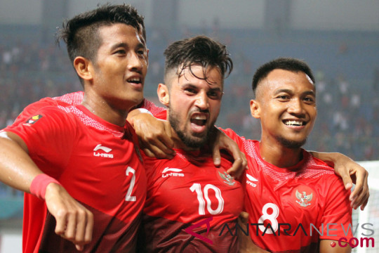 Sepak bola - Pemain timnas U-23 Indonesia optimistis taklukkan Palestina