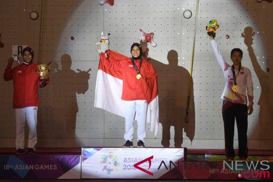 CdM Indonesia bangga panjat tebing raih satu emas dan perak