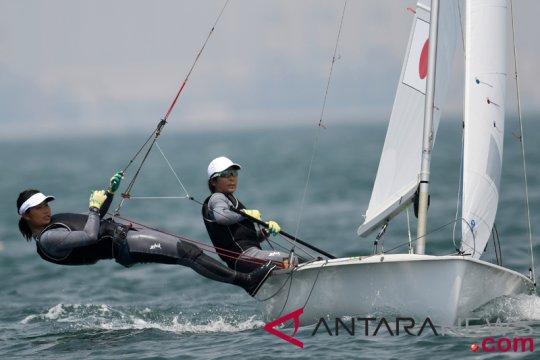 Jepang dominasi perolehan medali emas cabang layar