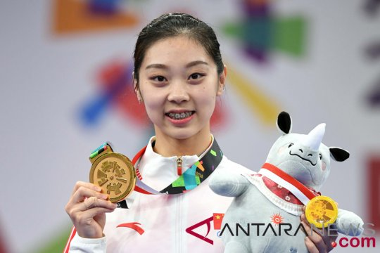 China kuasai perolehan emas nomor Sanda putri