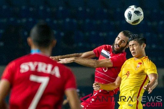 Pelatih China: bermain menekan kunci kemenangan atas Suriah