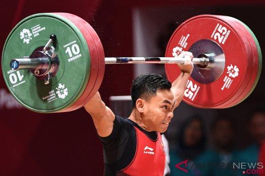 19 lifter putra berebut medali pada kelas 69 kilogram