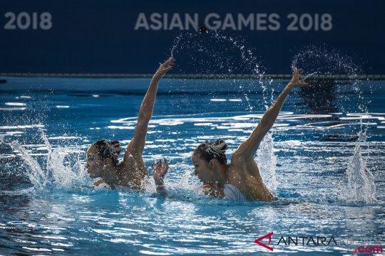 China pertahankan gelar juara ganda putri renang indah
