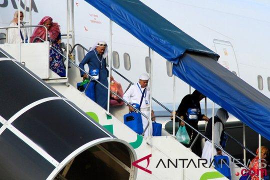 Seluruh jamaah haji sultra tiba di kampung halaman