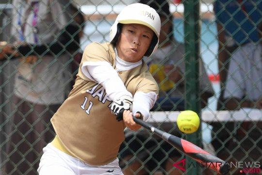 Tim sofbol Jepang libas Korea 10-0