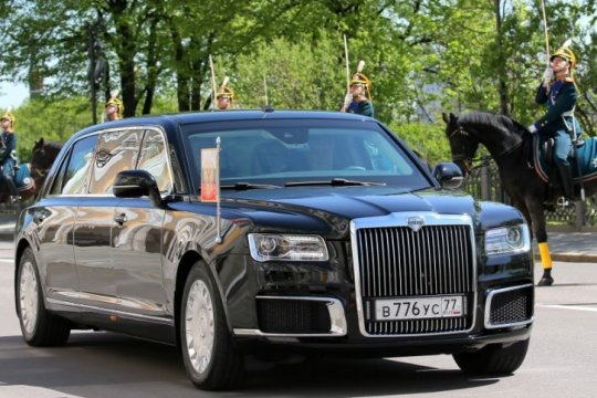 Limusin Aurus Senat, mobil Kepresidenan Rusia yang gantikan Mercedes