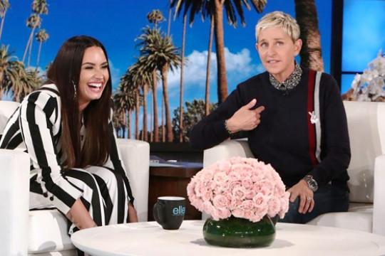 Ellen DeGeneres tawari Demi Lovato tinggal di rumahnya usai rehab
