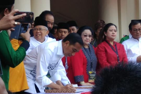 Jokowi janjikan blok migas untuk kemakmuran rakyat