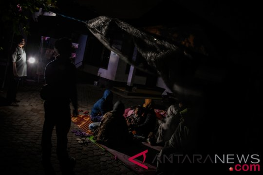 Sepinya malam takbiran di Sembalun Lombok