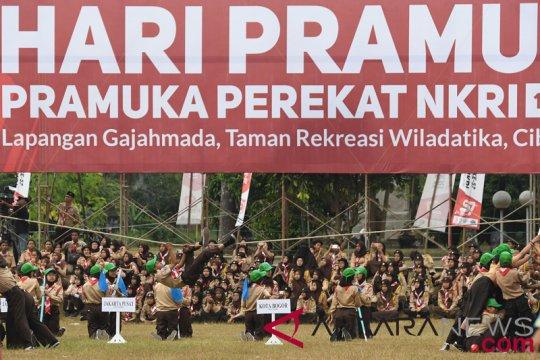 Gubernur Riau terima tiga penghargaan Pramuka