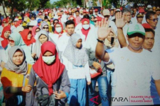 Ribuan warga Biak Papua jalan sehat 1 Muharam