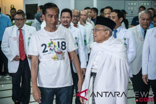 "LSI: Bakal capres Jokowi-Ma'ruf capai ""The Magic Number"""