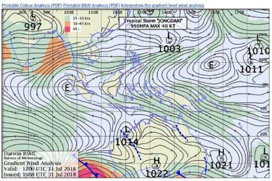 BMKG: Siklon Choi Wan beri dampak tak langsung di utara Indonesia