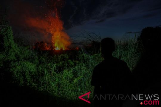 Sebagian besar hutan-lahan Riau dalam keadaan mudah terbakar